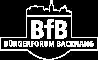 BfB - Bürgerforum Backnang